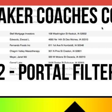 FileMaker Coaches Corner - Tip 2 - Portal Filtering - Portal Sorts