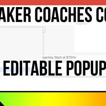 FileMaker Coaches Corner - Tip 4 - Editable Pop-up Menu - Custom Function