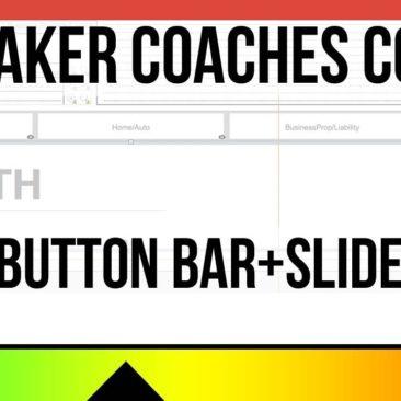 FileMaker Coaches Corner - Tip 7 - Button Bar + Slide Panel